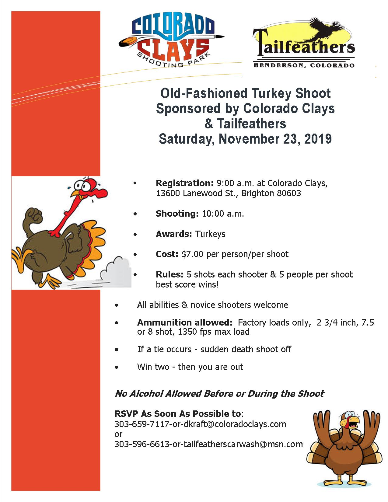 Old Fashioned Turkey Shoot
